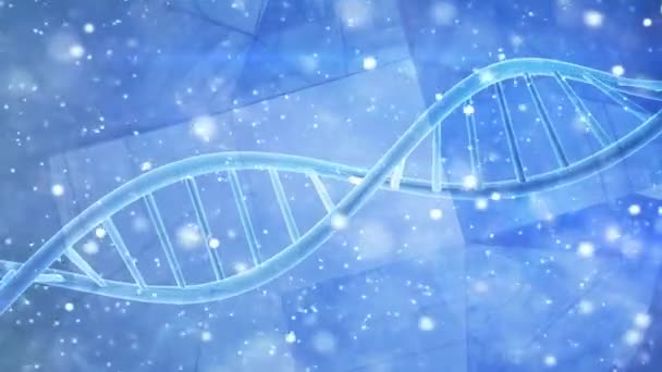 Genetics DNA double helix strand