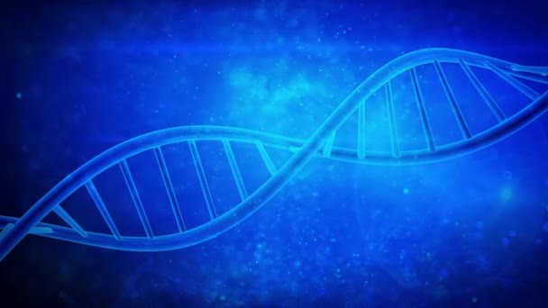 DNA double helix strand medical background