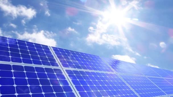 Photovoltaik-Sonnenkollektoren nachhaltige Ökoenergie