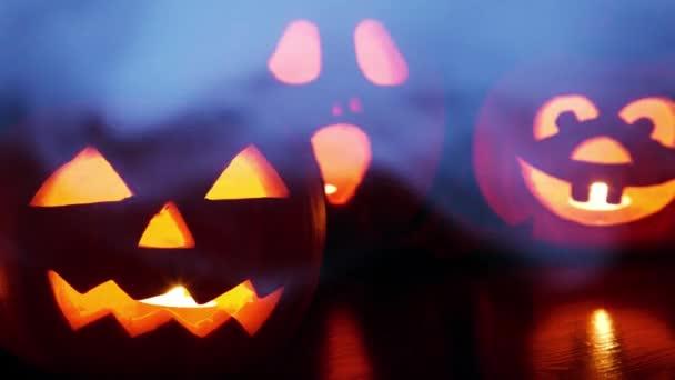 Strašidelné Halloweenské pozadí