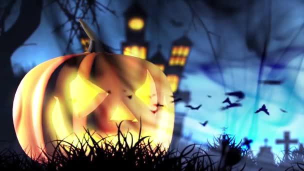 Halloween tök kísérteties narancssárga háttér