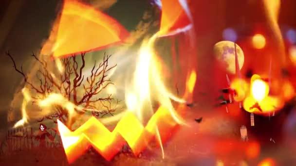 Kísérteties tök kísértetjárta Halloween háttér