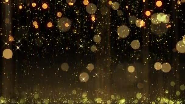 padající třpyt abstraktní bokeh částice slavnostní pozadí šťastný nový rok, veselý vánoční styl