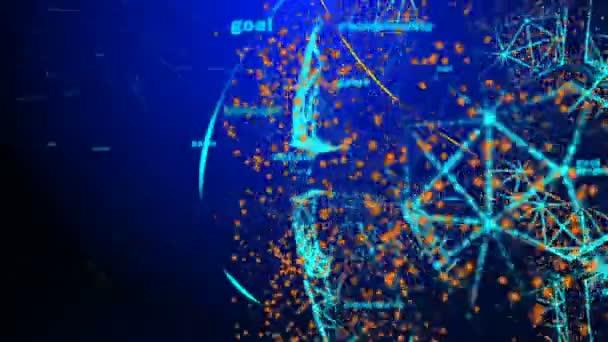 Fotbalový míč v podobě planety v prostoru,, mapy a textury od Nasa, alfa