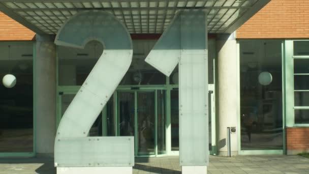 Olomouc, Česká republika, 29. února 2019: Zlin Bata, mrakodrap v 1938 ČR, kulturní památka, památka na budovu, důležité památky, funkcionalistka