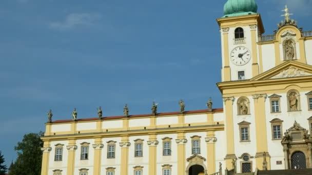 Bazilika Panny Marie v Olomouci v kostele Svaty Kopecek, Česká republika, zdobení památníku barokní architektury, národní kulturní památka