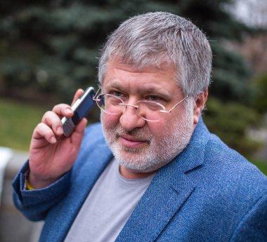 KYIV, UKRAINE - Mar 11, 2014: Ihor Kolomoyskyi - Ukrainian oliga