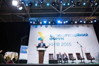 KYIV, UKRAINE - DEC 23, 2015: Mikheil Saakashvili is a Georgian
