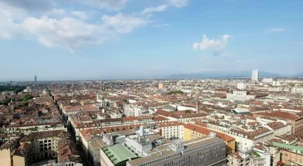Panorama města Turín v rozlišení 4k