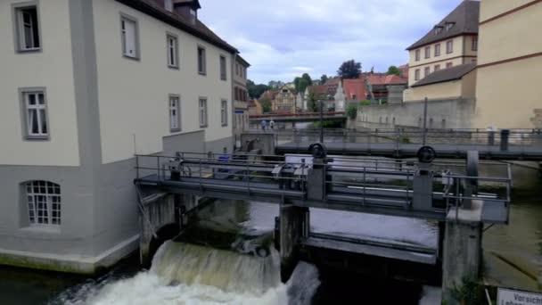 Diga sul fiume Regnitz bei Bamberg
