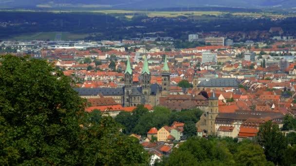 Stadtpanorama vom Bamberger Schloss aus