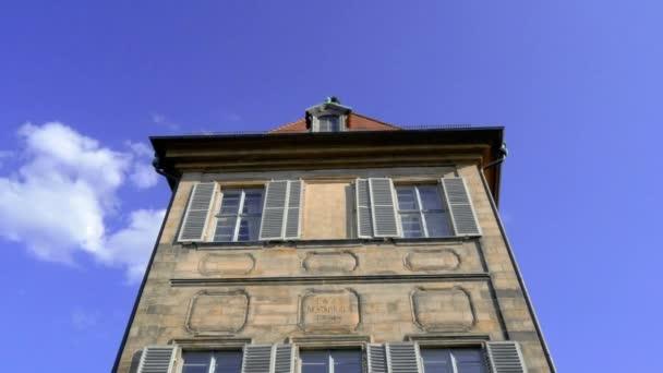 Fassade des alten rathauses von der unteren brcke in bamberg