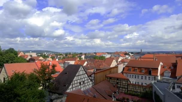 Blick auf die Dächer der Stadt Bamberg