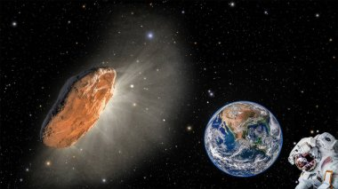 Oumuamua is a mildly active comet, and the first interstellar object detected passing through the Solar System.