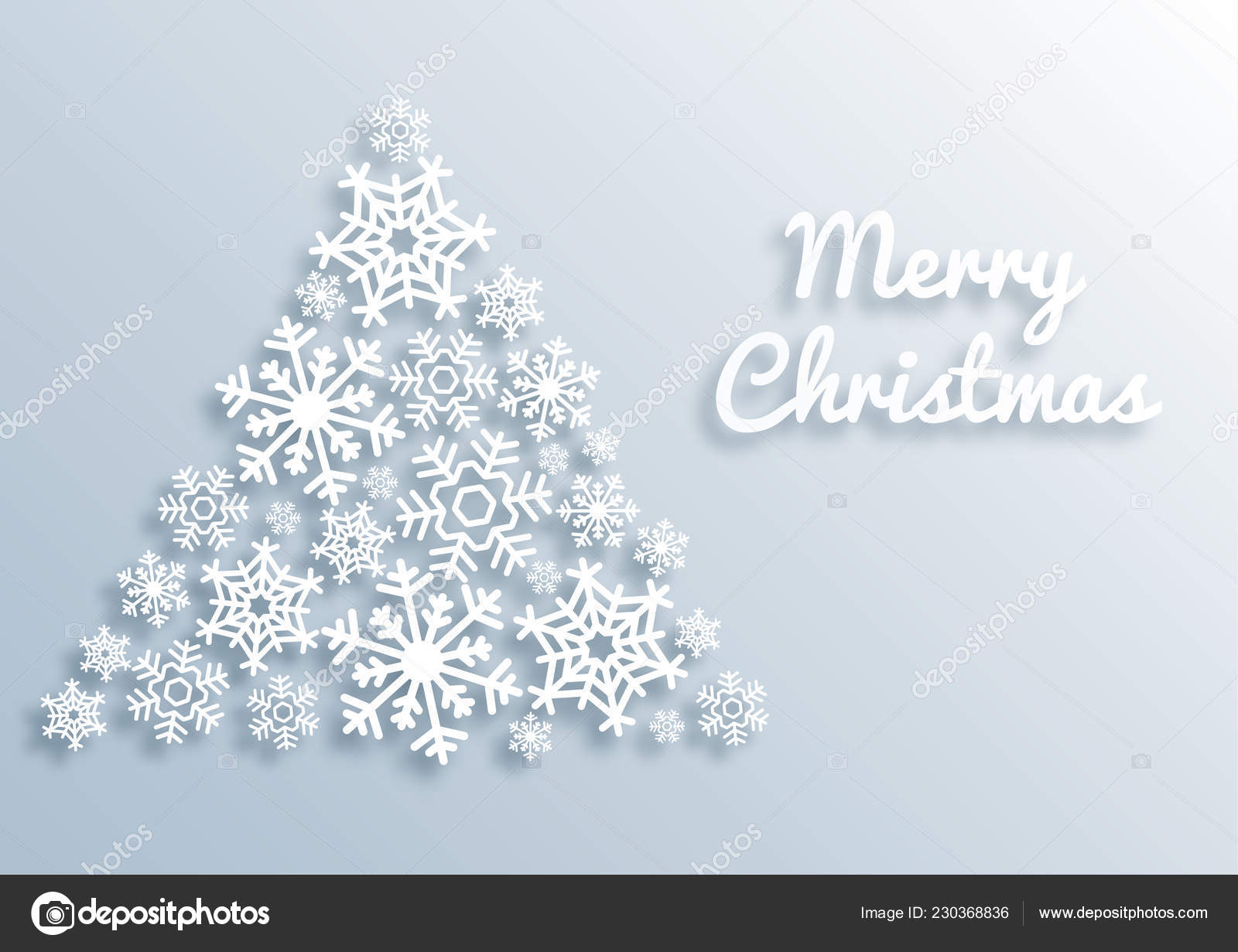 Fiocchi Di Neve Di Carta Modelli : Carta stile cartolina d auguri di buon natale con l albero di