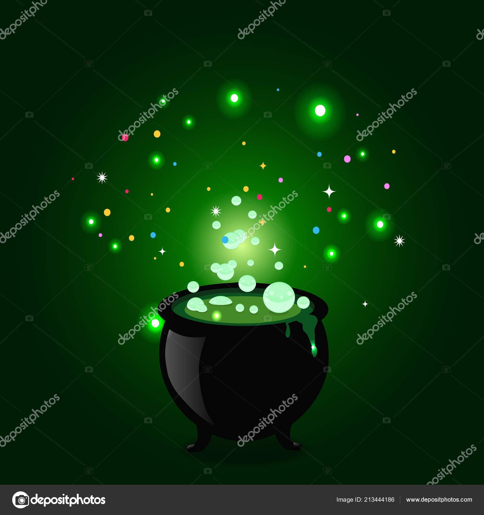 Nationalisme ou Mondialisme, l'enjeu du 3ème Millénaire Depositphotos_213444186-stock-illustration-black-witch-pot-cauldron-boiling