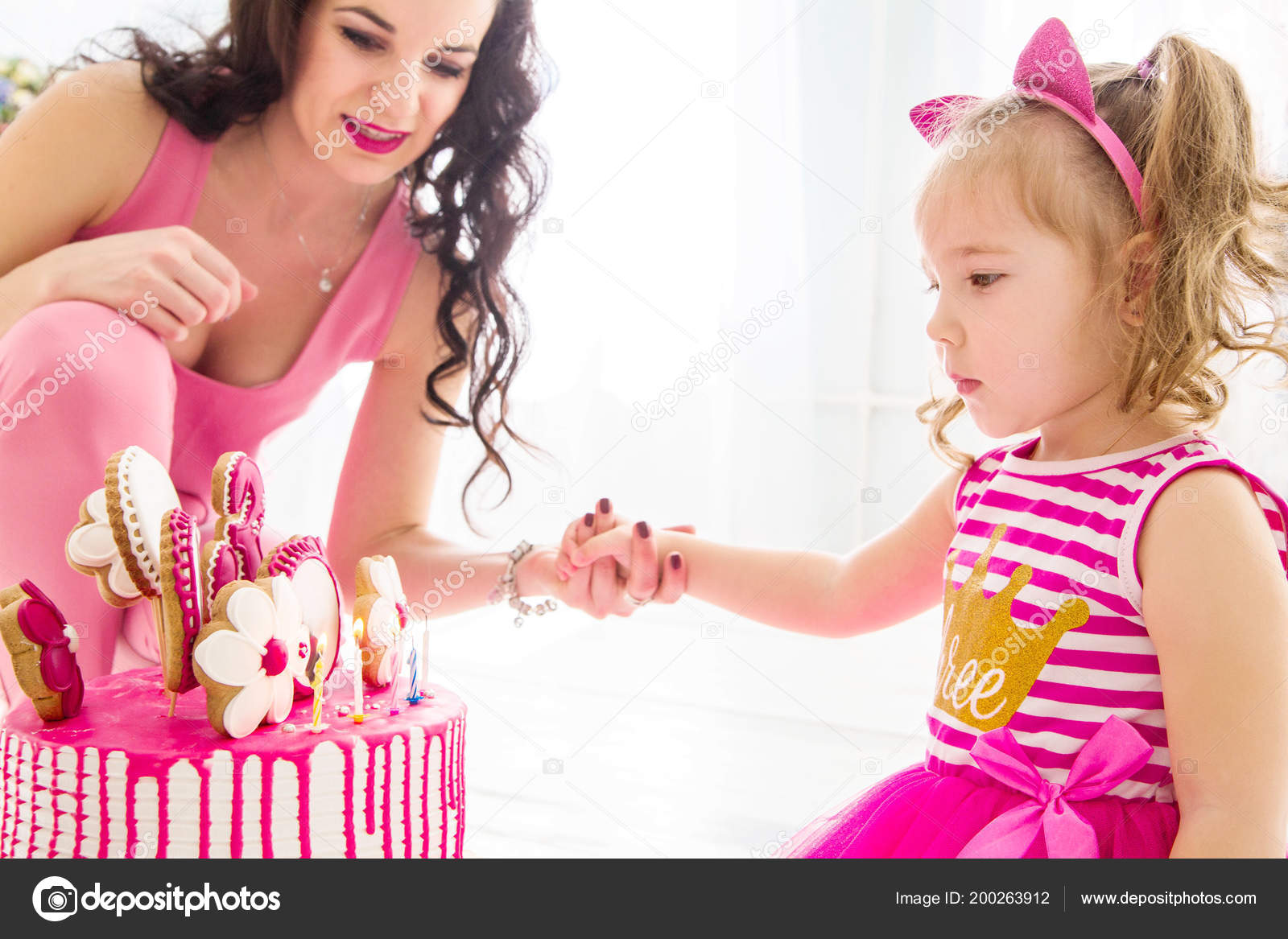 Awe Inspiring Elegant Birthday Cake For Mother Photo Mother Daughter Together Funny Birthday Cards Online Sheoxdamsfinfo