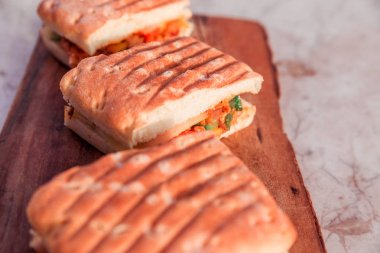 Photo of Sandwiches as an outdoor snack