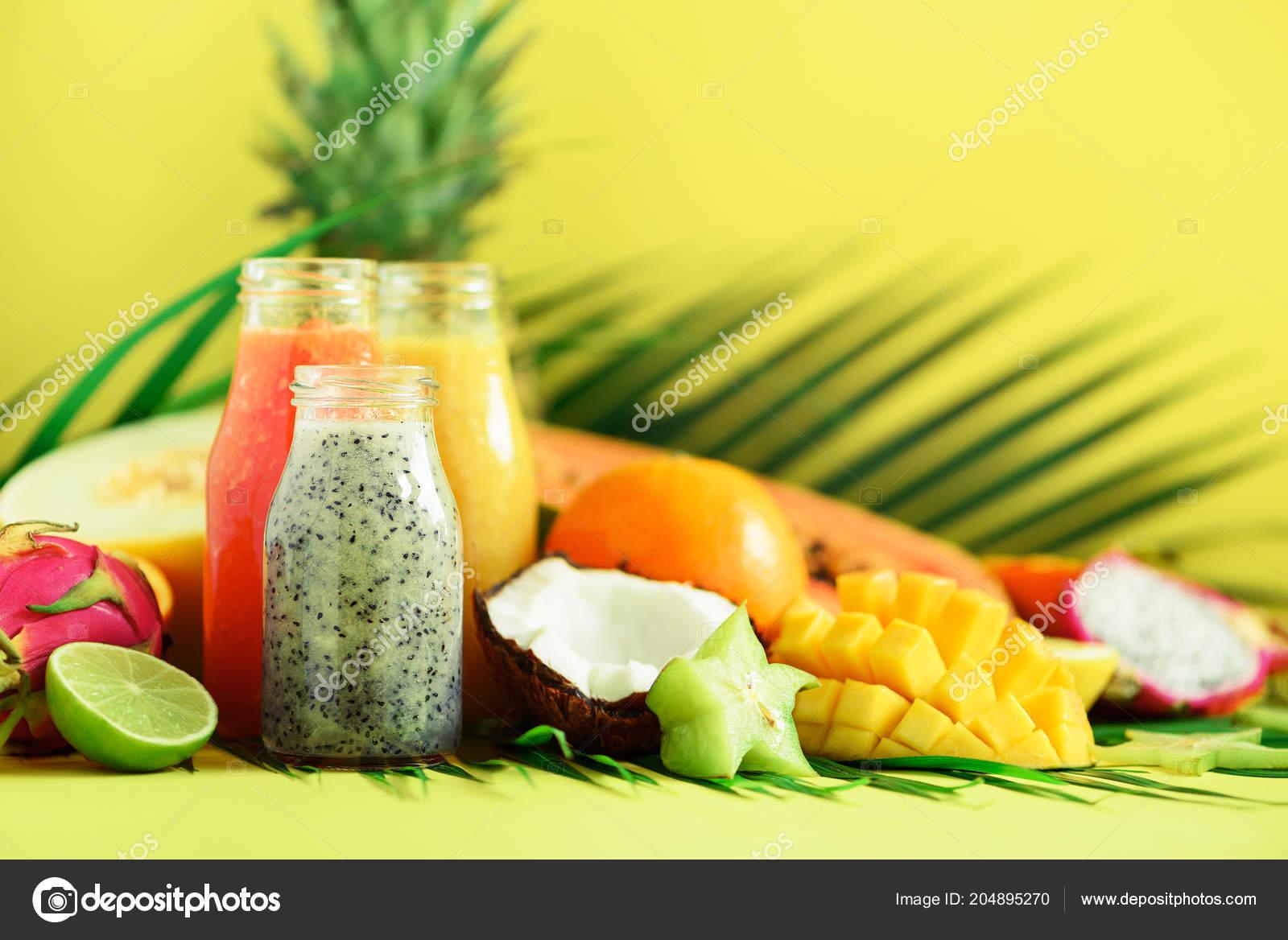 Detox papaya y pina