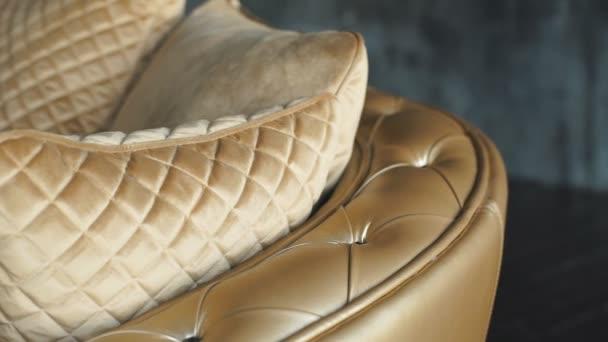 elegantní zlatá kůže textury s tlačítky pro pozadí a design