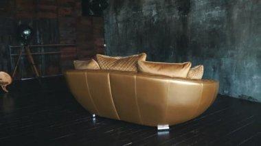 Stoel bal modern design wit zwart meubilair ronde