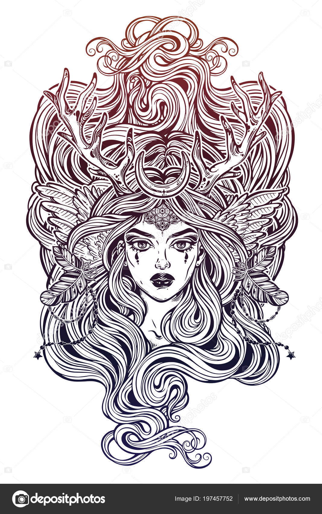 Free Pagan Coloring Pages Free, Download Free Clip Art, Free Clip ... | 1700x1067