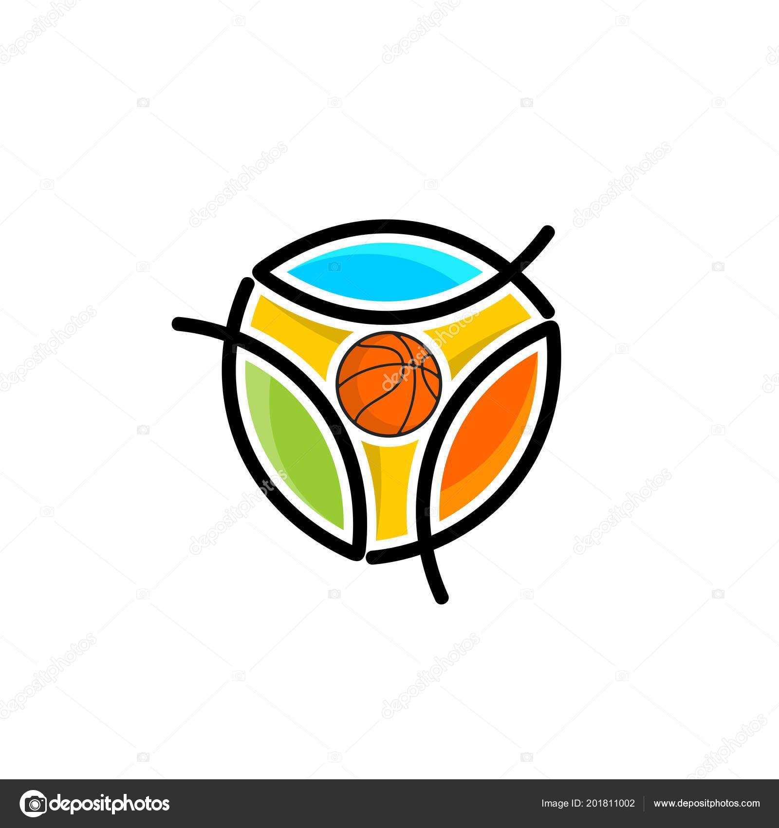 Athletic Christian Logo Fish Symbol Jesus Christ Believers Lord