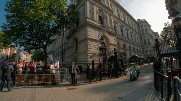 Č. 10 Downing Street, Londýn, Anglie, Velká Británie