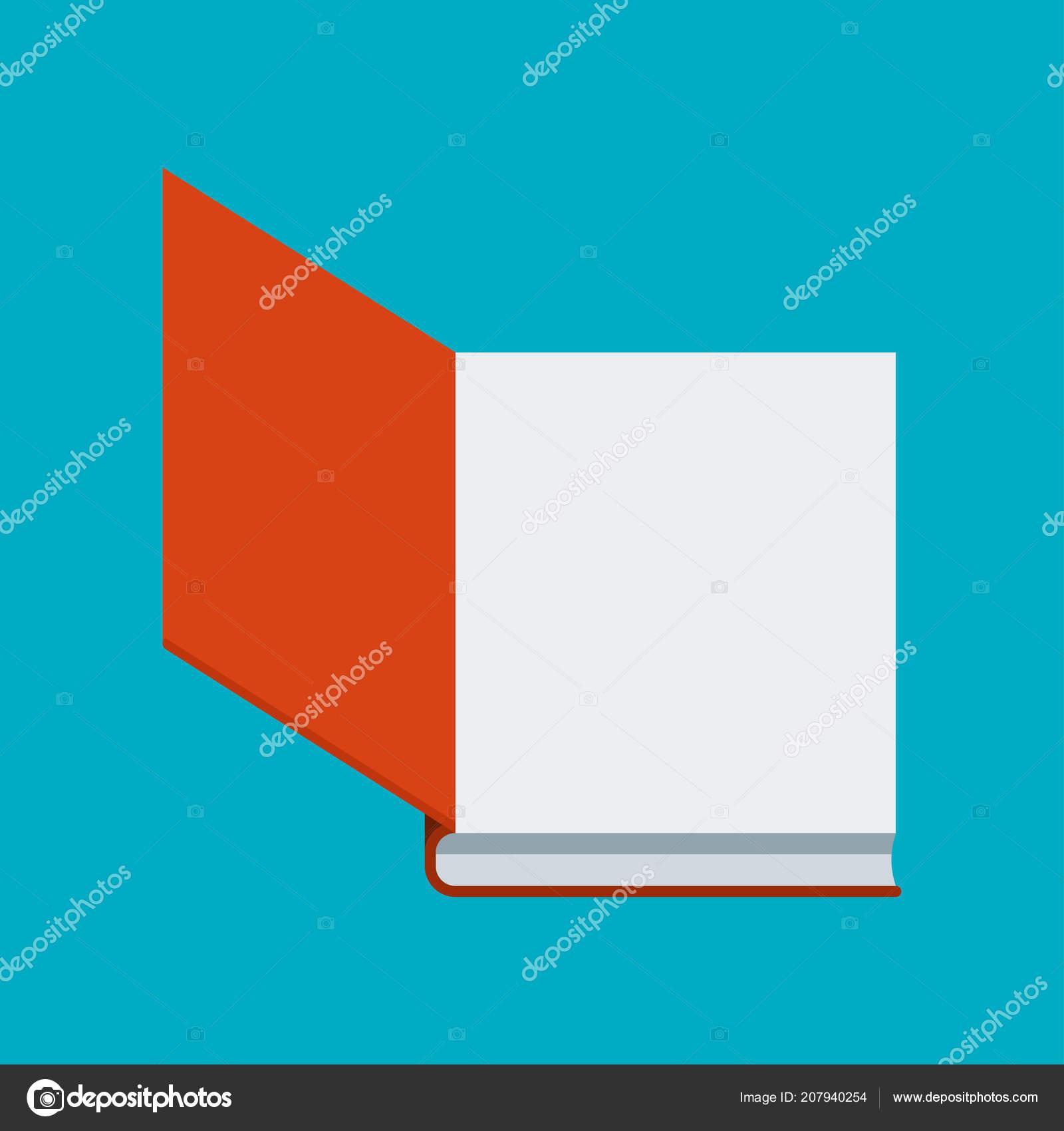 Icone Du Livre Couleur Sur Bleu Livre Pour Lire Et Etudier