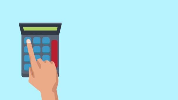 Calculating profits with calculator