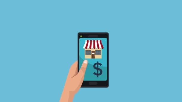 Internetový obchod ze smartphone