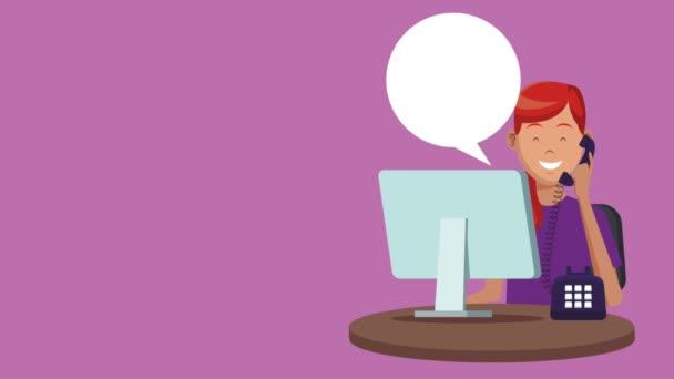 Technická podpora a call centrum služby Hd animaci