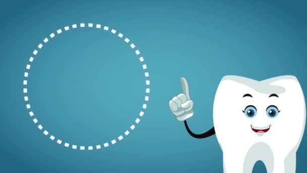 Zeichentrickfilm über Zähne und Dentalhygiene hd animation
