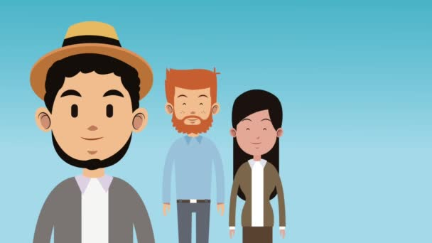 Nagy család Rajzfilmek Hd animáció