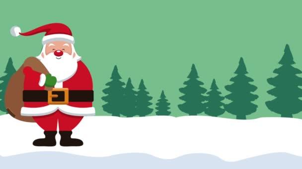 Mikulás és karácsonyi Hd animáció