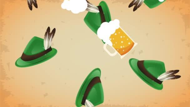 Bajor kalap és sörök Hd animáció