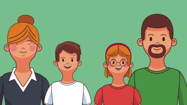 Gyönyörű családi rajzfilmek Hd animáció