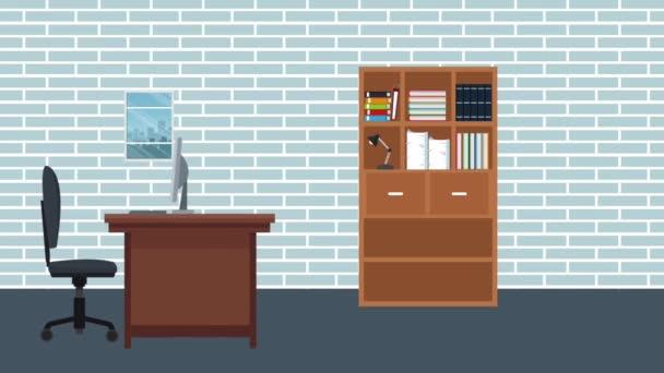 Výkonný obchodník kreslené animace Hd