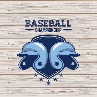 Baseball championship card