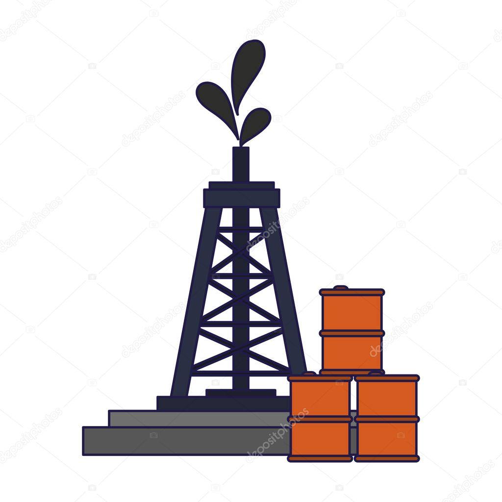 Petroleum refinery pump