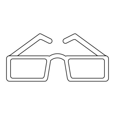 fashion sunglasses isolated in black and white