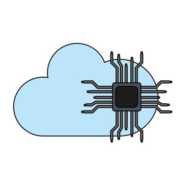Microchip and cloud computing