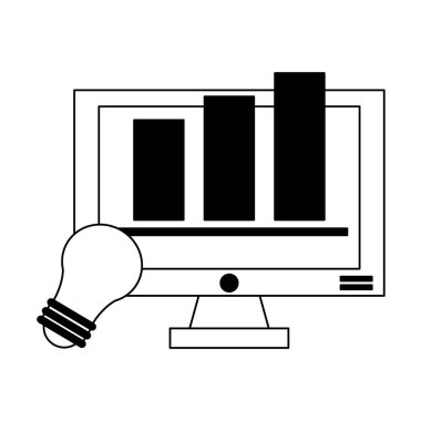 Business and office in black and white