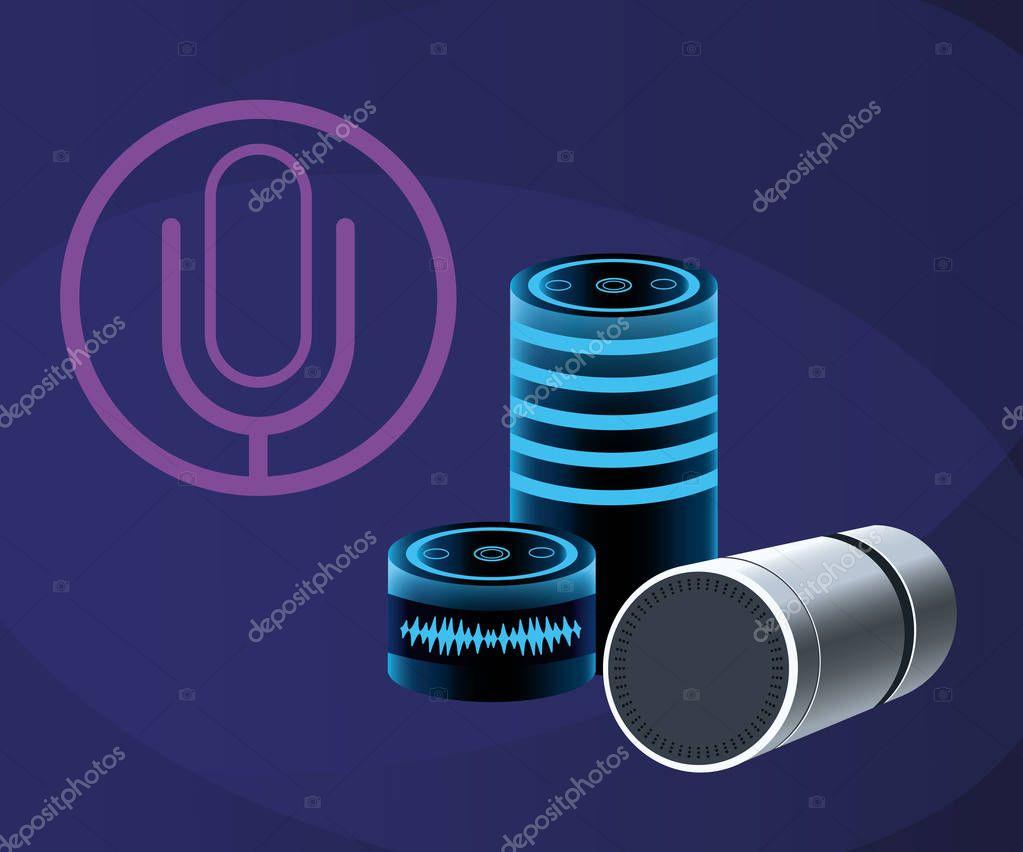vector recognition x speaker