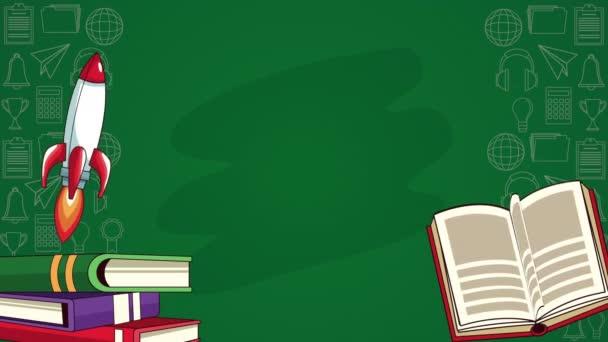 tankönyvek nyílt irodalom rakéta animációval