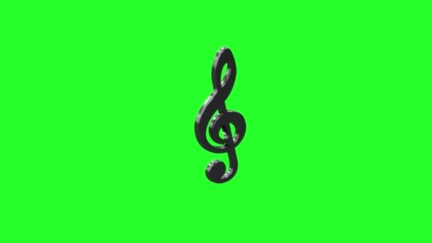zene gomb viszonoz 3d zöld háttér