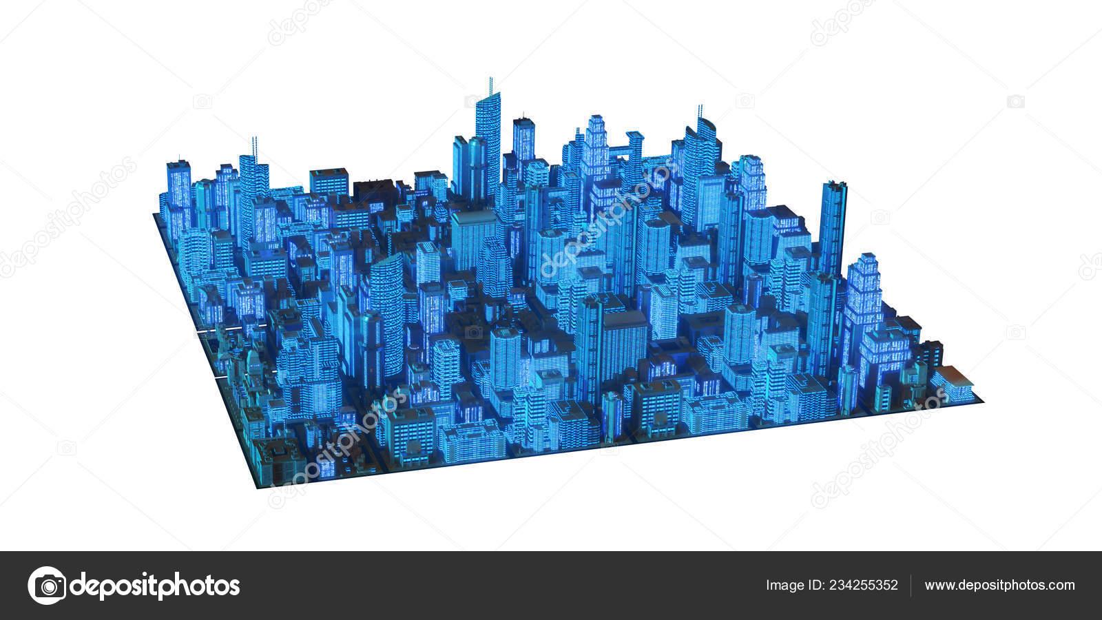 Обои темное небо, разрушенный город, небоскребы. Города foto 12