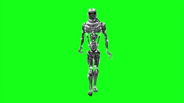 Cyborg, robot fut fut render 3d