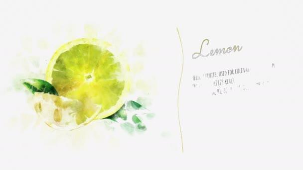 Zitronenrutsche für Videopräsentation