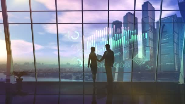 bar render sale business trading silhouette